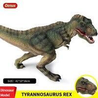 Oenux Prehistoric Carnivorous Jurassic Big T REX Dinosaurs King Tyrannosaurus Rex Dinossauro World Action Figures Kids Toy Gift