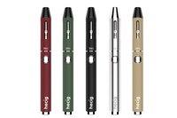 Hecig Wax & droog kruid pen HEC TIO verdampen elektronische sigaret vape Kit Twee-in-een vaporizer CBD verstuiver en Wax Verstuiver