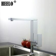Площадь однорычажный кухонный кран поворотный раковина кран кухонные смесители горячей и холодной воды хром смеситель torneira