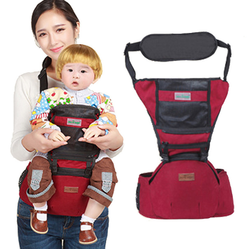 1bc78619559 Breathable Newborn Infant Baby Carrier Backpack Ergonomic Adjustable baby  carrier Hipseat Belt kids Infant hip Seat BB0014