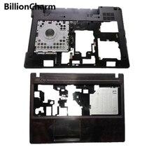 NEW FOR LENOVO G580 G585 Laptop Palmrest cover/Bottom Case Base Cover With HDMI 604SH01012 AP0N2000100