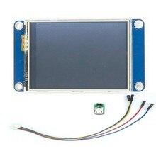 """2.4 """"라스베리 파이 2 A + B + uno r3 mega2560 용 Nextion HMI 지능형 스마트 USART UART 직렬 터치 TFT LCD 모듈 디스플레이 패널"""