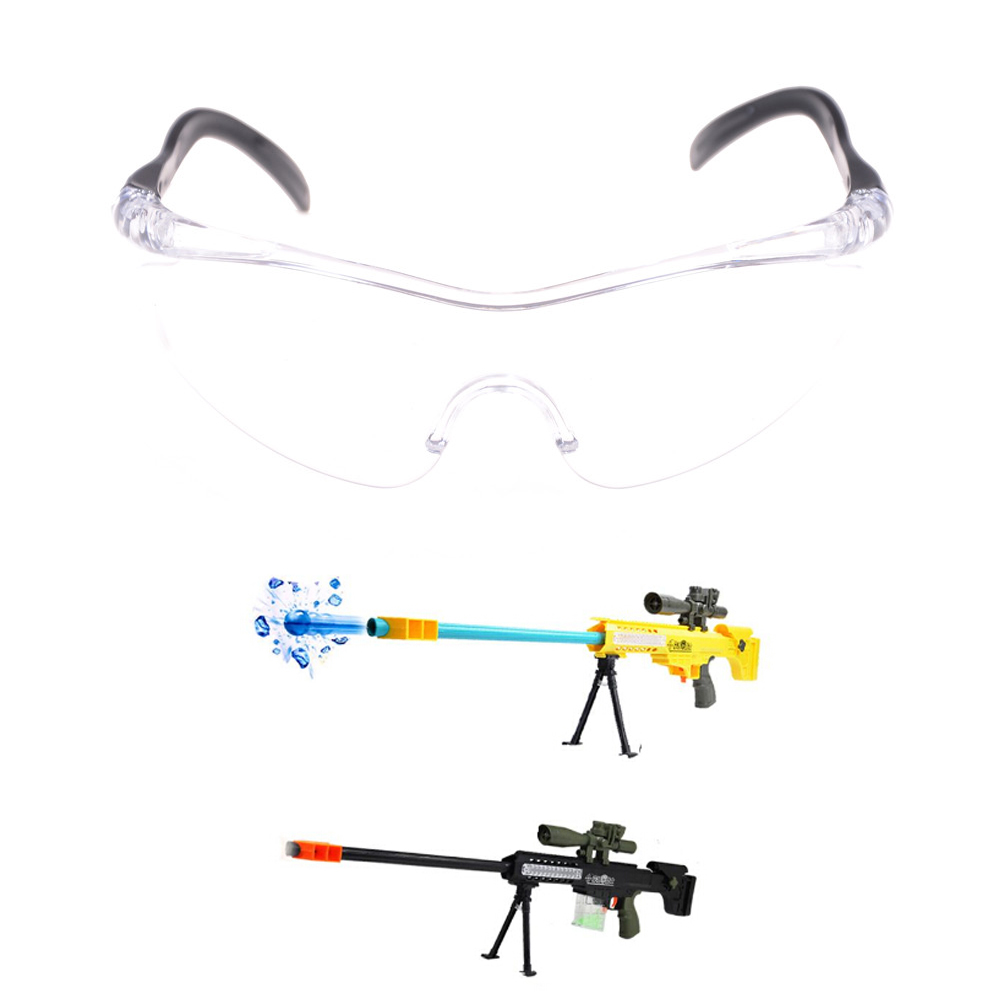 1Pc Plastic Durable Protect Eyes Unisex Outdoor Toy Gun Glasses for Nerf Children Kids Classic Gifts Gun Accessories
