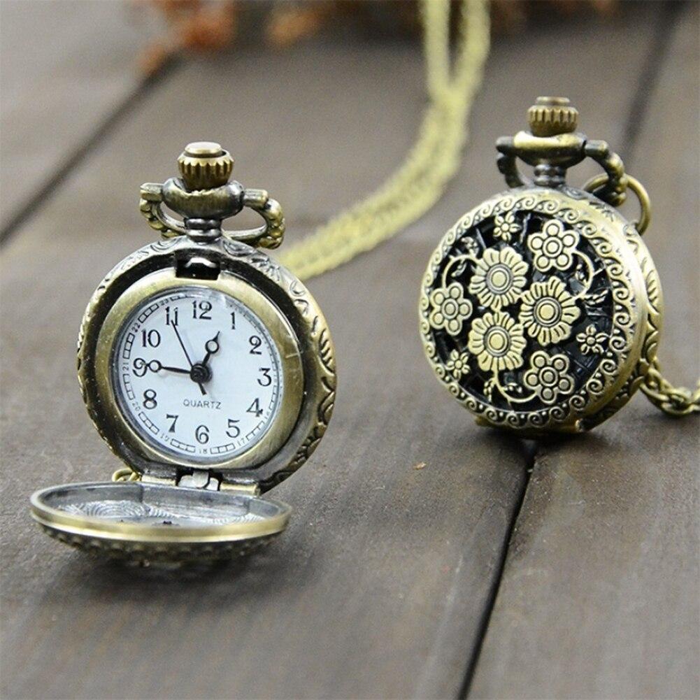 Steampunk Quartz Men Watch Necklace Carving Pendant Chain Montre Homme 2019 Clock Pocket Watch часы мужские мужские часы