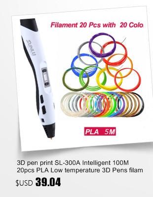 SUNLU Stylo /à Plume 3D avec /écran OLED Compatible avec ABS 1,75 mm et Bois PLA Gris