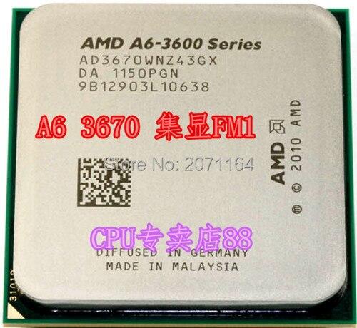 Для AMD A6-3670K FM1 набор был 2.7 Г