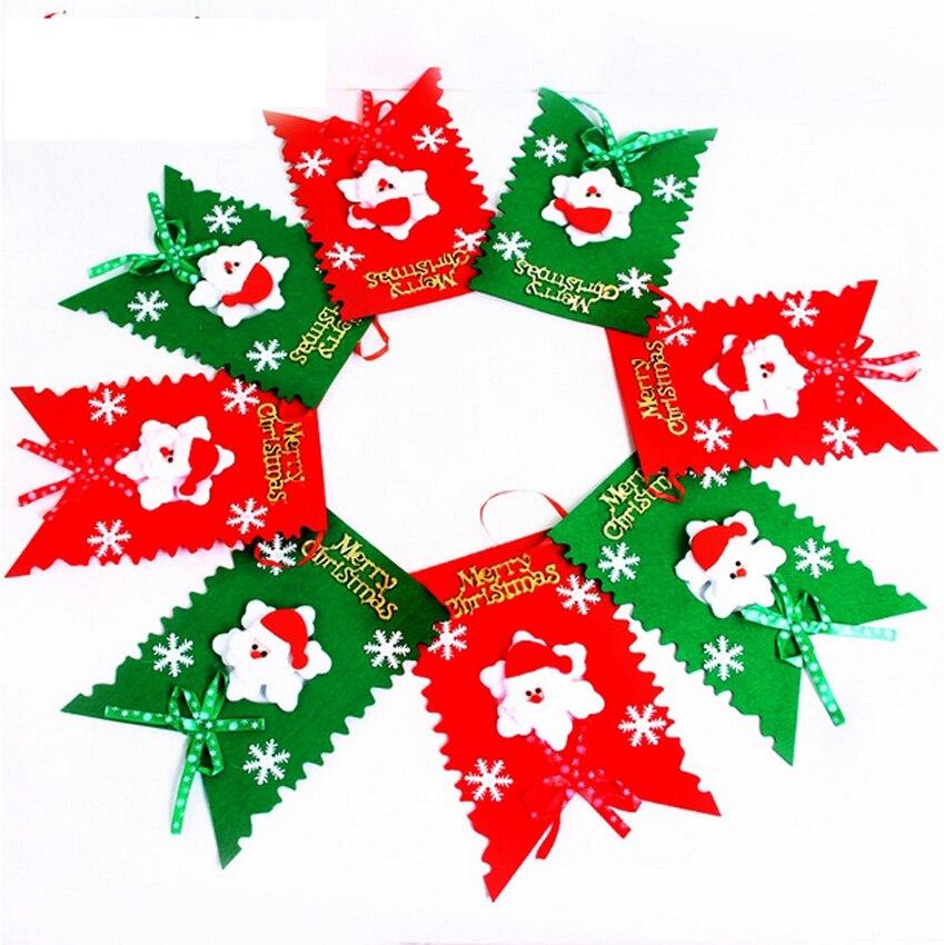 Buy 3m christmas flag decoration for Christmas decoration stuff
