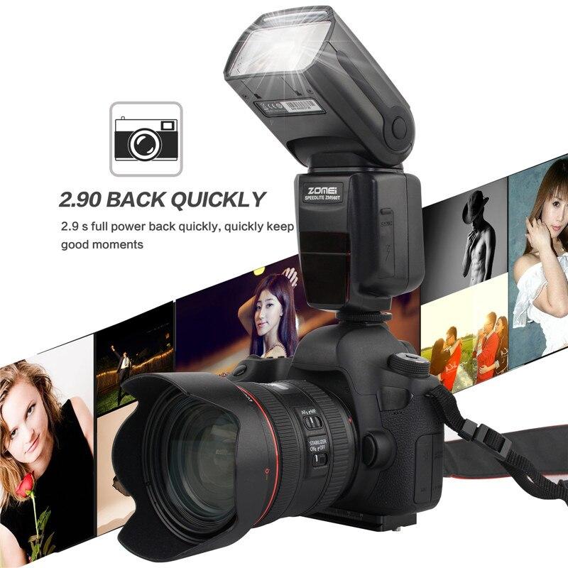 New ZM560T Pro High Speed E-TTL Flash Flashlight Flashlite For Canon 5D Mark II III 6D 7D 70D 60D 750D 700D 600D 550D DSLR пена монтажная mastertex all season 750 pro всесезонная