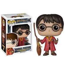 Hollywood Movies Figurinhas Harry Potter Funko Pop Nendoroid 10cm PVC Action Figure funko Figurines Kids Vinyl Doll Toys(China (Mainland))