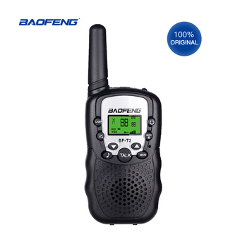 цена на Baofeng BF-T3 Mini Portable Walkie Talkie Outdoor Kids Interphones 0.5W 8/22CH Handheld PMR/FRS/GMR Radio Transceiver