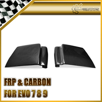 EPR Car Styling For Mitsubishi Evolution EVO 7 8 9 Carbon Fiber Under Rear Diffuser Vortex