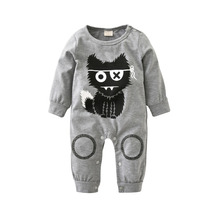 New 2017 fashion baby boy clothes long sleeve baby romper