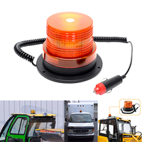 Flash Beacon Strobe Emergency Lamp Universal Car Accessories Magnetic Truck Warning Light Car Styling Light Source