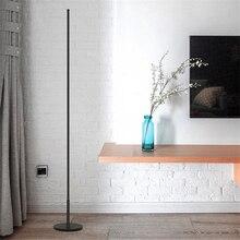 Modern Minimalist LED Floor Lamps Standing Living Room Led Black/White Aluminum Luminaria Lamparas Decorate