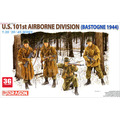 Dragon model 6163 1/35 solider crew U.S.101st AIRBORNE DIVISION assembly Model kits scale models building scale crew model  kits