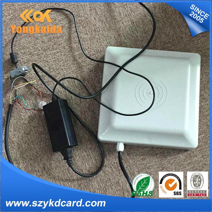 YongKaiDa UHF rfid reader rs485 rs232 long distance reader range ISO 18000-6C (EPCGEN2) passive rfid reader guess w0911l5