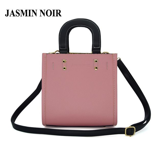 JASMIN NOIR Famous Brand Designer Women PU leather Handbag Small Cute Tote  bags for Ladies Flap Crossbody Shoulder Bag 765abbf4f9d71