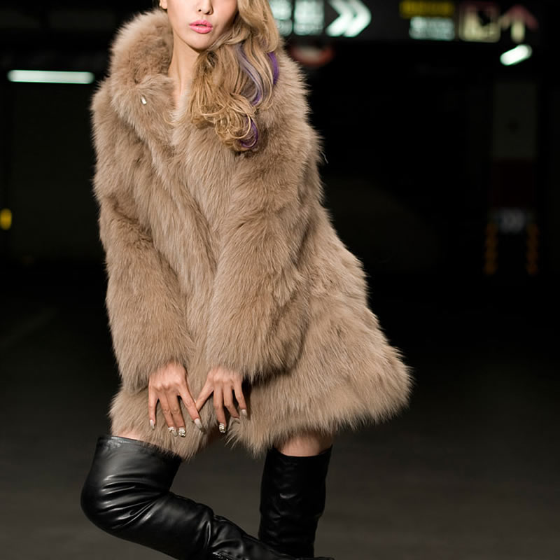 Hooded Shearling Coats Promotion-Shop for Promotional Hooded ...