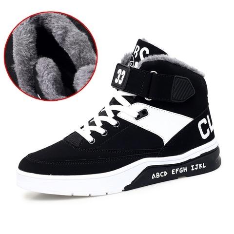 HEINRICH New Winter Sneakers For Men Warm Shoes High-Top Couple Shoes Snow Boots Men Comfortable Shoes Men Casual Zapatos Hombre Pakistan