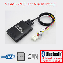 Yatour auto radio USB SD AUX decorder for Nissan Infiniti