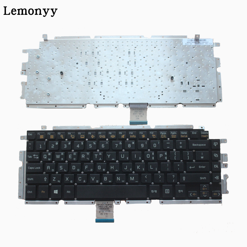 New Korean Laptop Keyboard for LG Z330 Z350 Z355 black KR keyboard laptop keyboard for lg 15n540 sn5840 sg 59030 40a sn5840 sg 59030 xra black without frame korea kr br brazil
