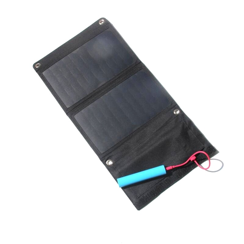High Efficiency 11W Sunpower Solar Panel Charger Portable Solar Cell Charger With Light Design 2PCS/Lot Free Shipping 110 60mm diy sunpower solar cell mono solar panel 6v 1w china for energy solar lamp light toy car phone battery portable charger