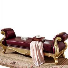 Высокое качество Европейская современная мебель для спальни КРОВАТЬ КОНЕЦ стул p10082