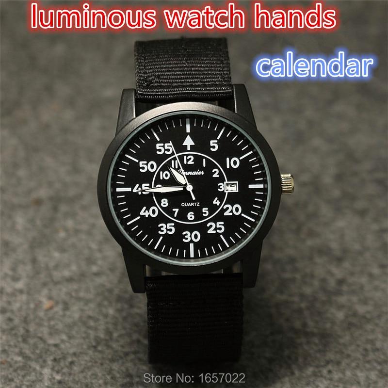 Luxury Brand Fashion Woman Men Nylon Casual Sports Quartz Calendar Watch Business Army Wrist Watch Hour Relogio Masculino