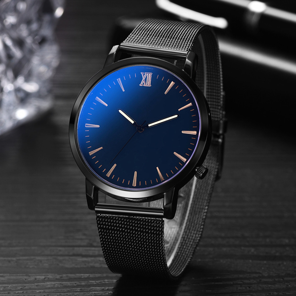 2019 Luxury Brand Fashion Casual Unobtrusive Simple montre homme Business Net With Strap Mens Watch Relogios Masculino Q72019 Luxury Brand Fashion Casual Unobtrusive Simple montre homme Business Net With Strap Mens Watch Relogios Masculino Q7
