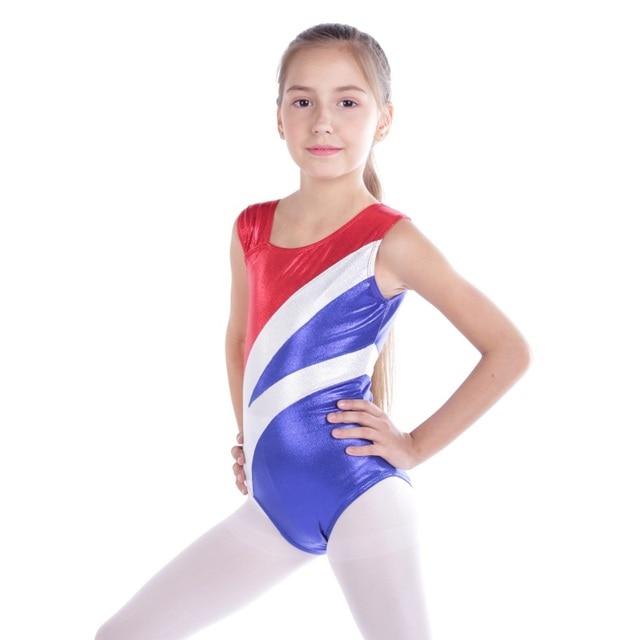 59eadab2f Gymnastics suit children s high quality sleeveless radium color ...