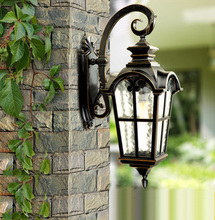 Europe style high-end outdoor lamp garden lights waterproof wall lamp vintage wall lamp Contains LED bulb free shipping