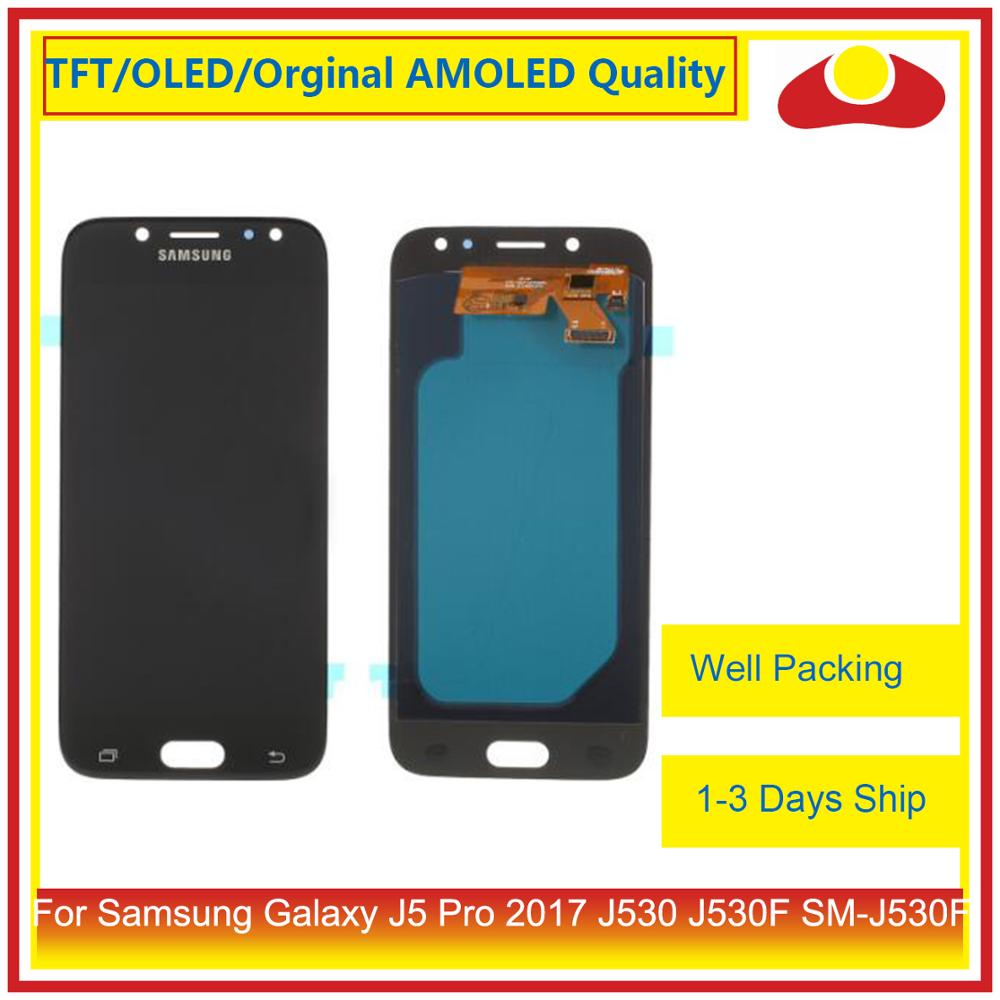 Image 2 - ORIGINAL For Samsung Galaxy J5 Pro 2017 J530 J530F SM J530F LCD Display With Touch Screen Digitizer Panel Pantalla Complete-in Mobile Phone LCD Screens from Cellphones & Telecommunications