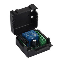 433 Mhz Wireless Remote Control Switch DC 12V 10A 1CH Relay 433Mhz Receiver Module For 1527
