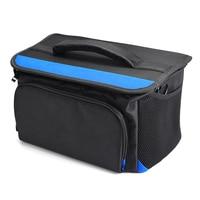 Tools Bag Waterproof Fiber Optical Fusion Splicer Carrying Bag Fiber Optic Splicing Machine Bag Wide Mouth New