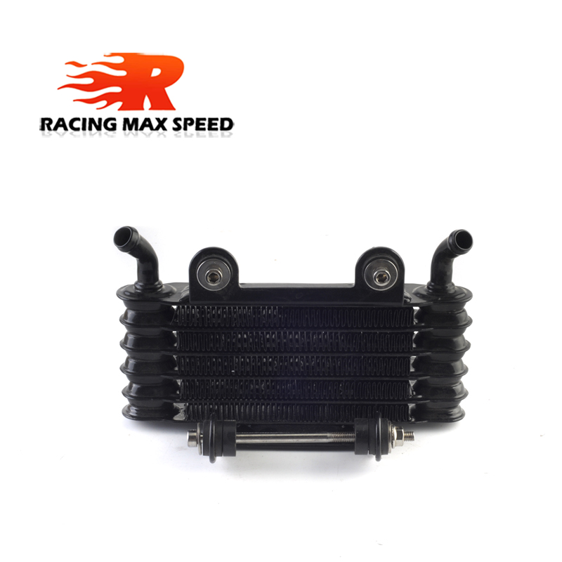 High Quality Universal Motorcycle oil cooler 200mm black SO 08 in Oil Coolers from Automobiles Motorcycles