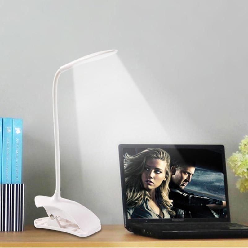 Candeeiros de Mesa liderada lâmpada de mesa interruptor Sombra : Limpador de Vidro
