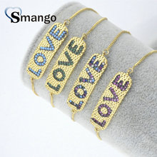 5Pieces The Rainbow Series Women Fashion Letter