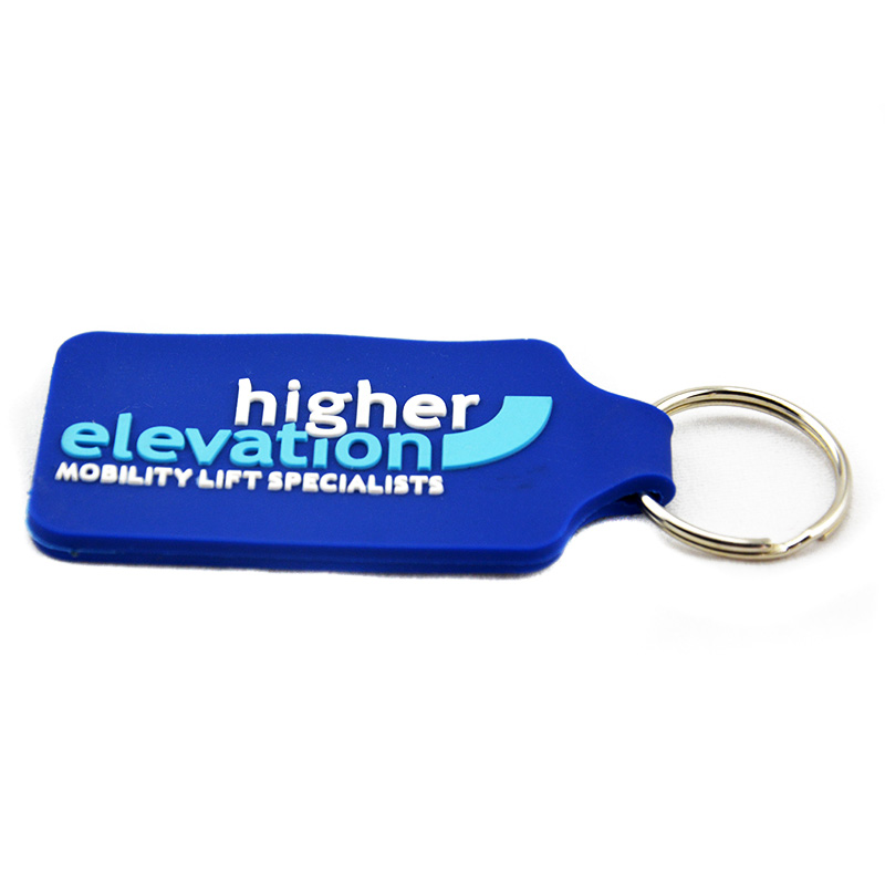 OneBandaHouse Custom Make 2D Soft PVC Keychain for Advertising Gift