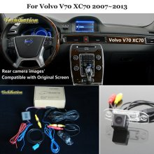 Car Rear View Back Up Reverse Camera Sets For Volvo V70 XC70 2007~2013 – HD Night Vision RCA & Original Screen Compatible