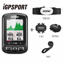 iGPSPORT IGS618E ANT+ GPS Bicycle Computer Bluetooth 4.0 Wireless IPX7 Waterproof Bike Cycling Speedometer Computer Accessories недорого
