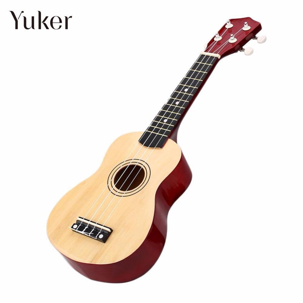 Professional 21 inch Wooden Soprano Ukulele Ukelele Uke Hawaiian Wood Musical Instrument 4 Strings Small Guitar Mini Guitarra