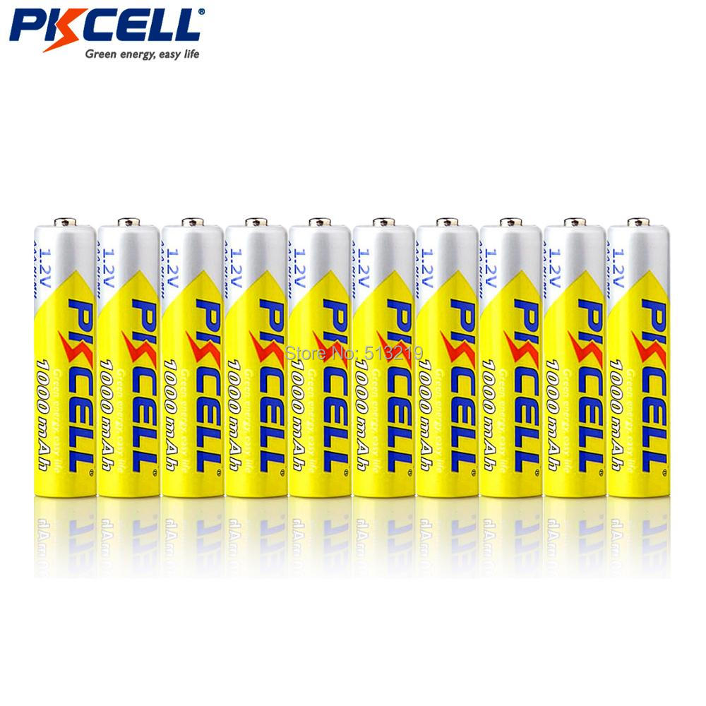 Consumer Electronics ... Accessories & Parts ... 32308087398 ... 2 ... 10PCS PKCELL 1.2v NIMH AAA Battery 3A 1000MAH AAA Rechargeable Battery aaa ni-mh batteries battery rechargea for flashlight toys ...
