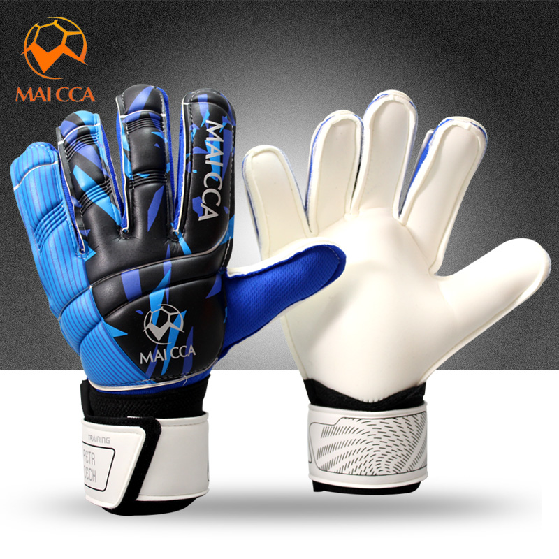 Fútbol Profesional portero de fútbol tamaño 8 9 10 látex guantes de portero deportes