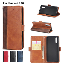 Business Luxury PU Leather Flip Case Cover For Huawei P8 P9 P10 P20 Lite Wallet Bag For Huawei  P9 P10 Plus P20 Pro Honor 9 Case все цены