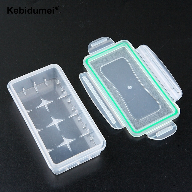 18650 Battery Case Holder Storage Box Hard Wear-resistant Plastic Case Waterproof Batteries Protector Cover Free Shipping