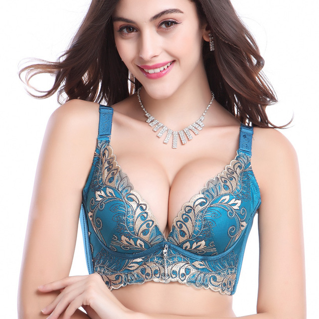 Sexy lace push up bra