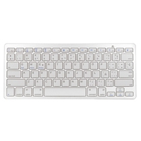 Universal Spanish Bluetooth Keyboard For Tablet Ultra Slim Wireless Keyboard Keycap Bluetooth Keyboard For Mac Win
