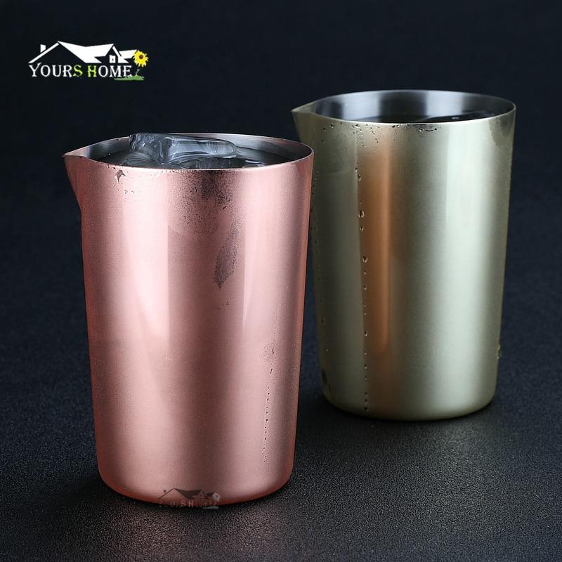 Agitação de Aço Lata de Mistura de 500 Preferido por Profissionais e Amadores Faça a Sua ml de Vidro Inoxidável Própria Especialidade Cocktail