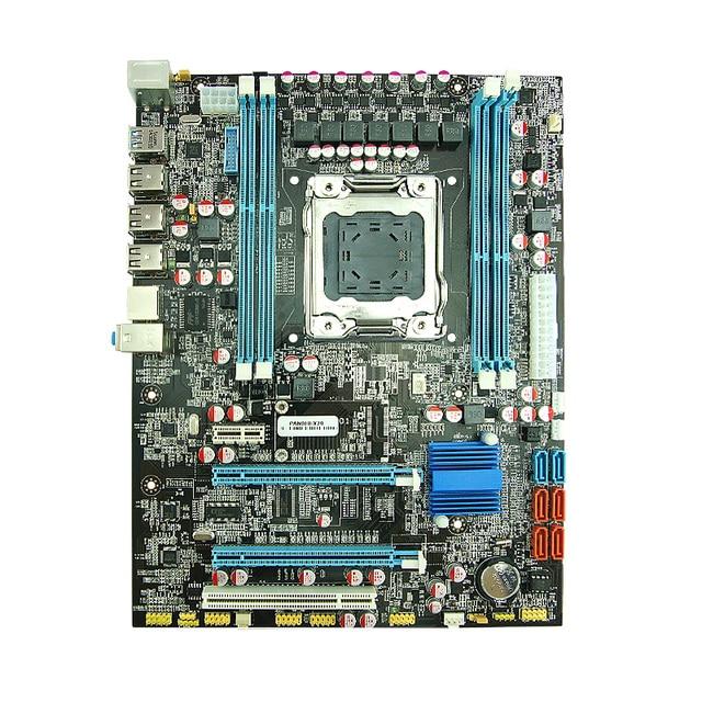 Soporte para memoria DDR3 de escritorio ordinaria X79 placa base 2011 de aguja Gigabit Ethernet