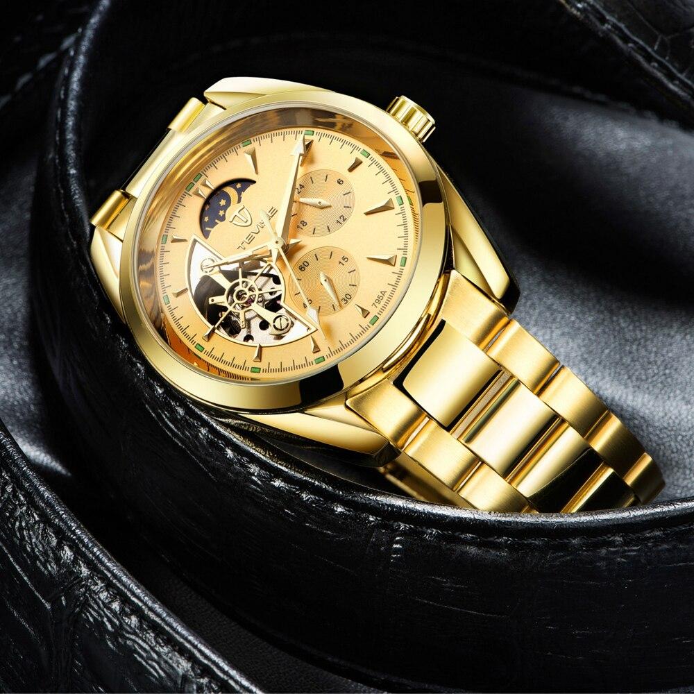 Tourbillon Armbanduhr Männer Uhr 12